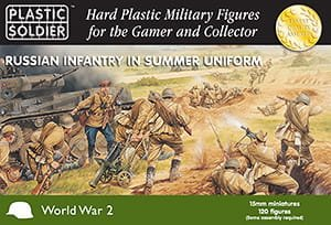 PLASTIC SOLDIER 15001 - 15 mm Russian Infantry in Summer Uniform