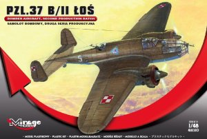 MIRAGE 481310 - 1:48 PZL.37 B/II Los second serie