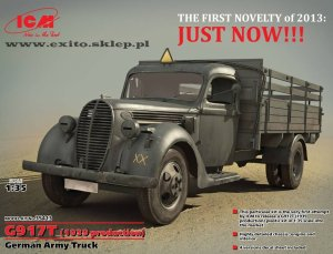 ICM 35413 - 1:35 G917T (1939 production) German Army Truck
