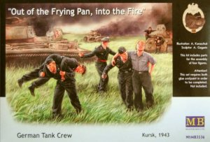 MASTER BOX 3536 - 1:35 German Tank Crew, Kursk 1943