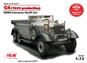 ICM 72471 - 1:72 G4 (1935 production) WWII German Staff Car