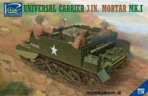 RIICH MODELS 35017 - 1:35 Universal Carrier 3 in Mortar Mk.I