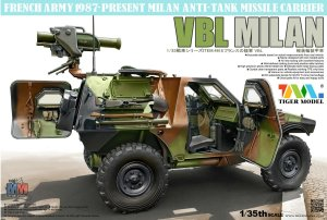 TIGER MODEL 4618 - 1:35 VBL Milan French Anti-Tank Missile Carrier