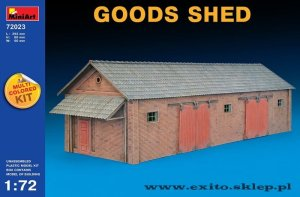 MINIART 72023 - 1:72 Goods Shed - multicolored kit