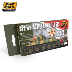 AK INTERACTIVE 561 - Soviet Camouflages - Tank Colours
