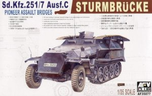 AFV CLUB 35077 - 1:35 Sd.Kfz. 251/7 ausf.C (with bridge)