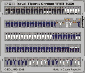 EDUARD 17511 - 1:350 Naval Figures German WWII