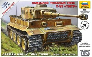 ZVEZDA 5002 - 1:72 Heavy Tank Pz.Kpfw.VI Tiger I early