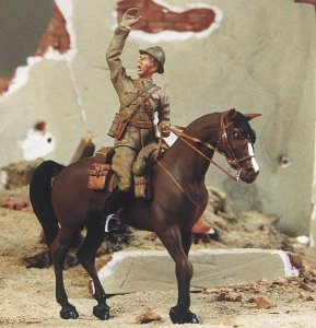 M-MODEL 35002 - 1:35 Polish Cavalry Officer Mounted - 1939