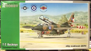 SPECIAL HOBBY 32059 - 1:32 T-2 Buckeye - Camouflaged Trainer