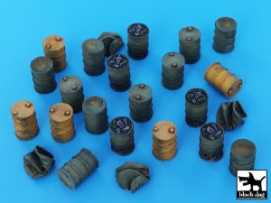 BLACK DOG T72025 - 1:72 Barrels accessories set