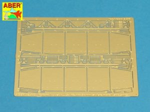 ABER 72A05 - 1:72 Side skirts for PzKpfw IV (H.J),Brummbar