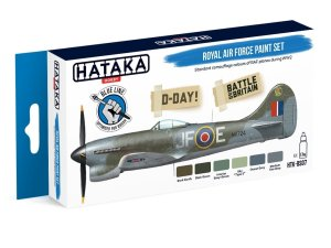 HATAKA BS07 - Royal Air Force paint set