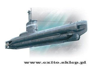 ICM S.004 - 1:144 U-boot type XXIII - WWII German Submarine