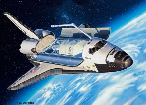REVELL 04544 - 1:144 Space Shuttle Atlantis
