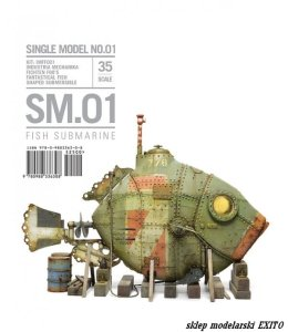 RINALDI STUDIO PRESS - Single Model 01 - Fish Submarine