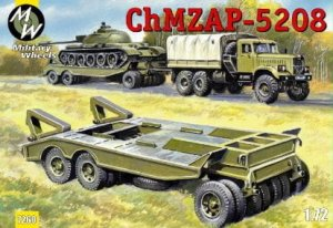 MILITARY WHEELS 7260 - 1:72 ChMZAP-5208