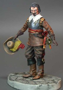 M-MODEL 32025 - 54 mm - Officer the 30 Years War 1618-1648