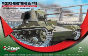 MIRAGE 355011 - 1:35 Vickers-Armstrong Mk F/45 late version
