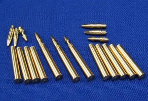 RB MODEL 35P04 - 1:35 Ammunition 85mm L/52 ZiS-S-53 & D-5 for T-34/85 , SU-85