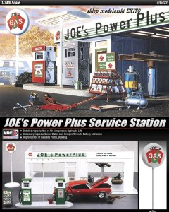 ACADEMY 15122 - 1:24 JOE s Power Plus Service Station