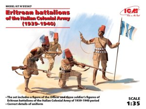 ICM 35567 - 1:35 Eritrean battalions of the Italian ?olonial Army (1939-1940)