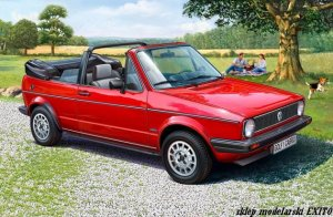 REVELL 67071 - 1:24 VW Golf 1 Cabrio
