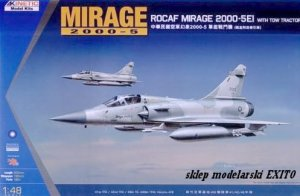 KINETIC 48045 - 1:48 Mirage 2000-5EI ROCAF with Tow Tractor