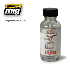 AMMO MIG 8200 - Lacquer Thinner and Cleaner ALC307  30 ml