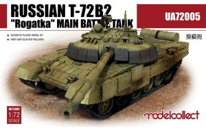 MODELCOLLECT UA72005 - 1:72 Russian T-72B2 Rogatka Main Battle Tank