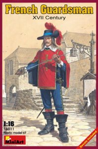 MINIART 16011 - 1:16 French Guardsman. XVII Century