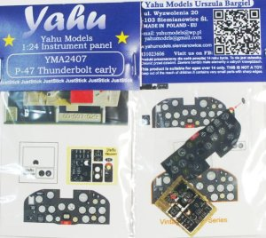 YAHU YMA2407 - 1:24 P-47 Thunderbolt early - Instrument Panel