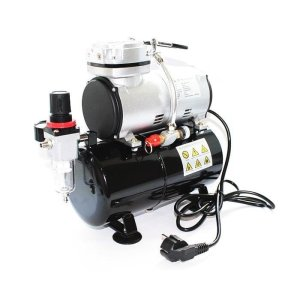 AMAZING ART TC20T - Airbrush Air Compressor with 3L air tank