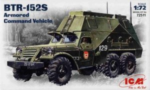ICM 72511 - 1:72 BTR-152S, Soviet Armored Command Vehicle