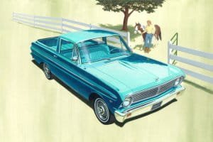 TRUMPETER 02511 - 1:25 Ford  Falcon 1965 Ranchero pickup, stock plus
