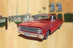 TRUMPETER 02507 - 1:25 Ford Falcon 1964 Sprint hardtop, stock plus