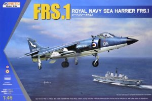 KINETIC 48035 - 1:48 Sea Harrier FRS.1 Royal Navy
