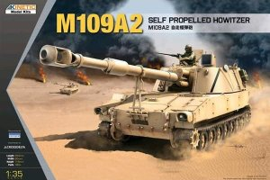 KINETIC 61006 - 1:35 M109A2 Self Propelled Howitzer