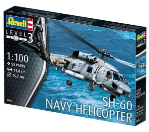 REVELL 04955 - 1:100 SH-60 Navy Helicopter