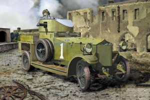 RODEN 803 - 1:35 British Armoured Car (Pattern 1914)