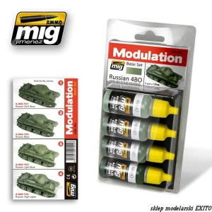 AMMO MIG 7004 - Russian 4BO Modulation Set
