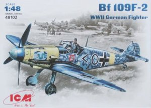 ICM 48102 - 1:48 Bf 109F-2, WWII German Fighter