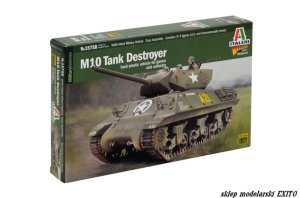 ITALERI 15758 - 1:56 M10 Tank Destroyer