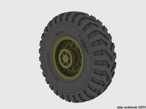 PANZERART 35304 - 1:35 Matador / Doerchester / AEC Road wheels (Firestone)
