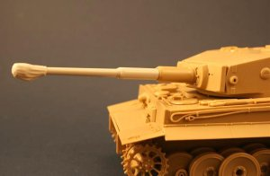 PANZERART 35101 - 1:35 Barrel with Canvas Cover for Tiger I Tank (Late/ Final)