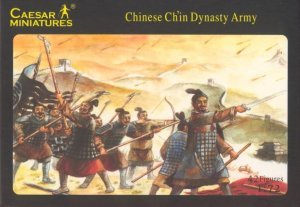CAESAR MINIATURES H004 - 1:72 Chinese Ch'in Dynasty Army