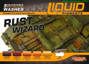 LIFECOLOR LP 02 - Liquid Pigments - Rust Wizard