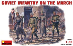 MINIART 35002 - 1:35 Soviet Infantry On The March