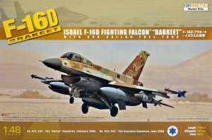 KINETIC 48009 - 1:48 IDF F-16D Block 40 Brakeet