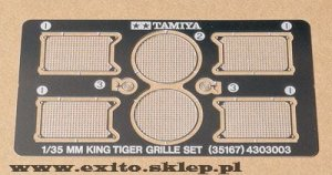 TAMIYA 35167 - 1:35 King Tiger - Grille Set
